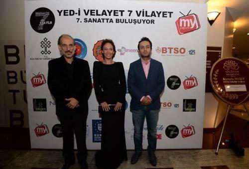 فعالیت مصطفی زمانی در جشنوار فیلم ترکیه (عکس)