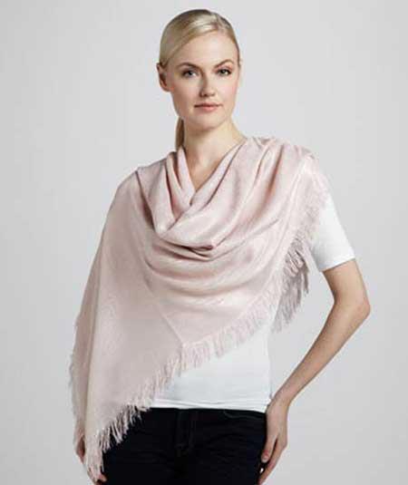 انواع جدید شال و روسری پاییزه مارک گوچی