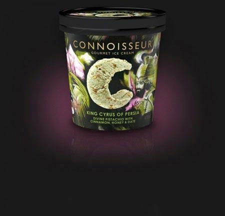 تولید یک بستنی متفاوت  با طعم و مزه کوروش کبیر (عکس)