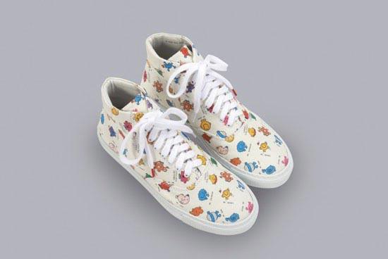 انواع شیک ترین کفش های کتانی دخترانه