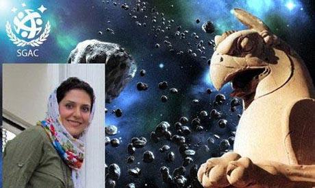 سیاره ای که توسط یک دختر ایرانی نامگذاری شد (عکس)