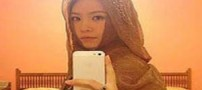 حجاب قابل توجه دختر چینی در سفر به ایران (عکس)