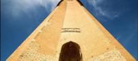 نماهایی از گنبد قابوس بلندترین برج جهان