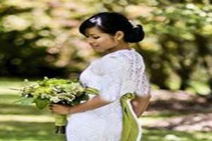 ابتکار جالب این خانم برای صرفه جویی هزینه عروسی (عکس)