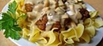 آموزش غذای ایتالیایی به نام استراگانف با کوفته ریزه