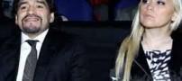 خبر جنجالی کتک کاری مارادونا با نامزدش (عکس)