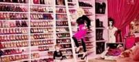 تصاویری از کمد لباس لوکس ستارگان هالیوودی