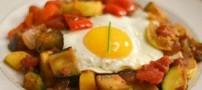 دستور تهیه غذای سبزیجات برای شام