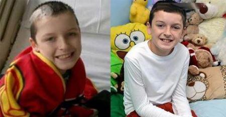 40 عمل جراحی روی پسر 10 ساله (عکس)