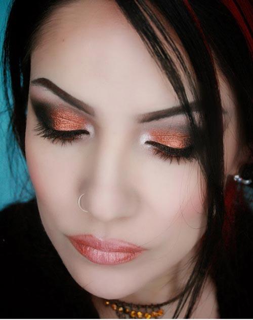 مدل های زیبای آرایش چشم مجلسی