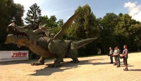 رکورد گینسی بزرگترین اژدهای جهان (عکس)
