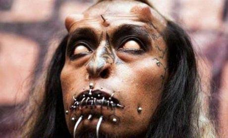 شیطان پرستی با چهره بسیار وحشتناک (عکس)