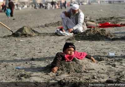 خرافه عجیب و غریب میان مردم پاکستان (عکس)