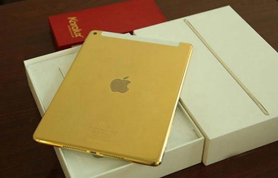 بدنه این آی پد ایر از طلای 24 عیار ساخته شده است (عکس)