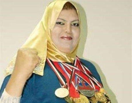 این زن قهرمان در آرزوی ازدواج است (عکس)