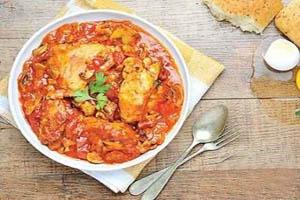 مرغ بلغاری و دستور طبخ آن