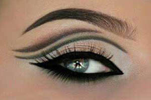 آرایش تصویری چشم ترکیبی و مجلسی