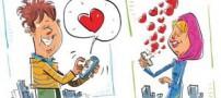 احساس و افکار عشقتان را از روی SMS هایش بخوانید