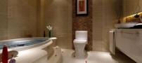 طراحی مدرن دکوراسیون حمام و روشویی (عکس)