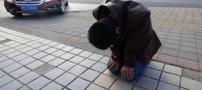 حرکت عجیب پسر جوان برای اینکه نامزدش  او را ببخشد!