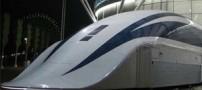 رکورد شکنی پرسرعت ترین قطار جهان (عکس)