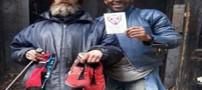 اقدام جالب یک موسسه خیریه  برای بی خانمان ها (عکس)