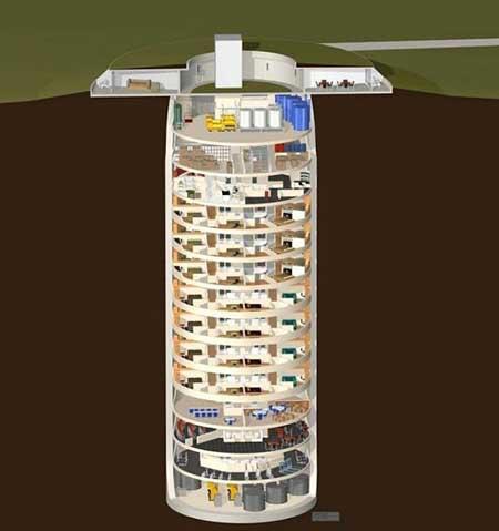 مکانی امن برای ثروتمندان در آخرالزمان (عکس)