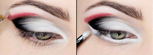 آموزش نوعی آرایش عربی مجلسی