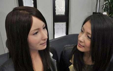 انسان های مصنوعی  ابتکار جدید چینی ها (عکس)