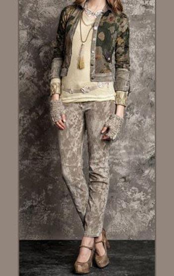 شیک ترین لباس پاییز زنانه برند Daniela Dallavalle