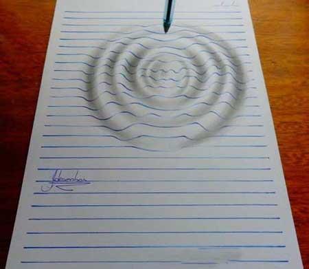 نقاشی هایی که با چشم شما بازی می کنند
