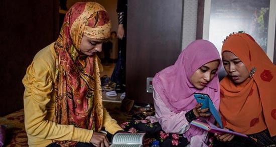 تصاویری از جشن انتخاب دختر شایسته جهان اسلام