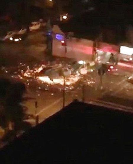 راننده ای که موجب سقوط هلی کوپتر شد! (عکس)