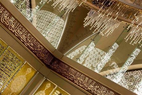 این مسجد توسط یک زن طراحی شده است (عکس)