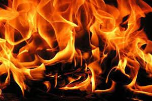 مردی که سوخت/ فرماندار: حواله ماشین آتش نشانی گرفتیم