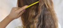 چگونه موهای صاف را حالت دار کنیم؟