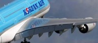 حرکت جنجال برانگیز دختر مایه دار در هواپیما (عکس)
