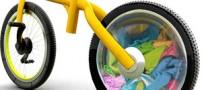 این دوچرخه شگفت انگیز لباس می شوید! (عکس)
