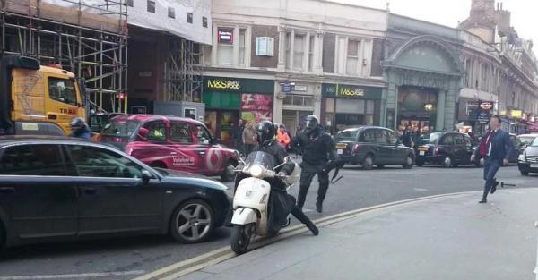 دستگیری یک سارق توسط شهروند شجاع (عکس)