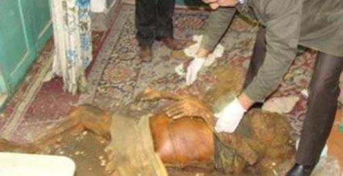 کشف جسدی در دزفول پس از یک سال (عکس)