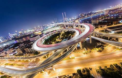 زیبا و طویل ترین پل جهان در شانگهای چین (عکس)