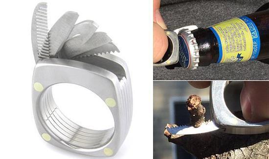 طراحی حلقه ای متفاوت و کارآمد برای آقایان (عکس)