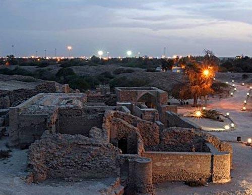شهر باستانی حریره در جزیره کیش (عکس)