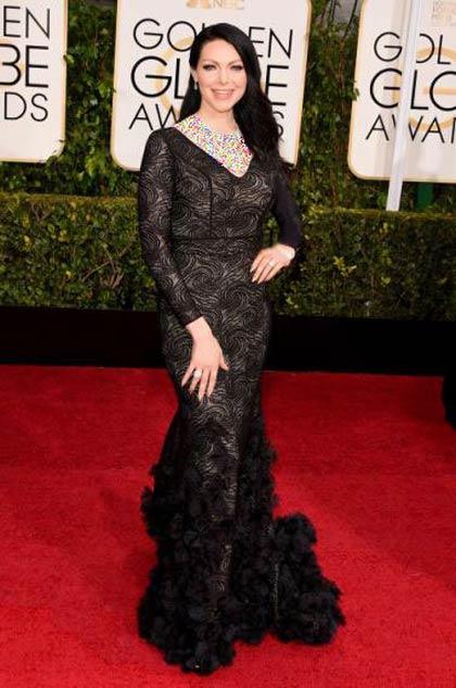 گلچین بدترین لباس هنرمندان هالیوودی در گلدن گلوب 2015