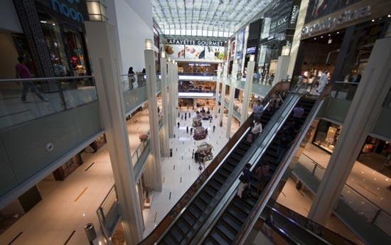 تصاویری جذاب از بزرگترین مرکز خرید دنیا