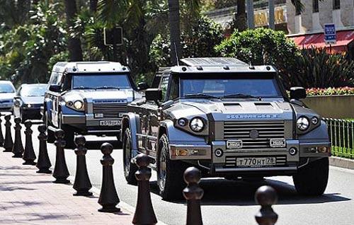 برترین اتومبیل های ضد گلوله (عکس)