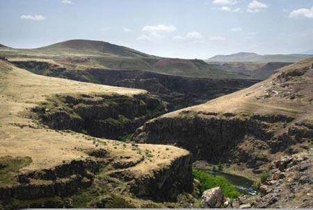 آشنایی با مکان های دیدنی آنی در ارمنستان (عکس)