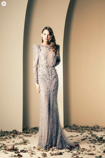 زیباترین مدل لباس شب برند زیاد نکاد
