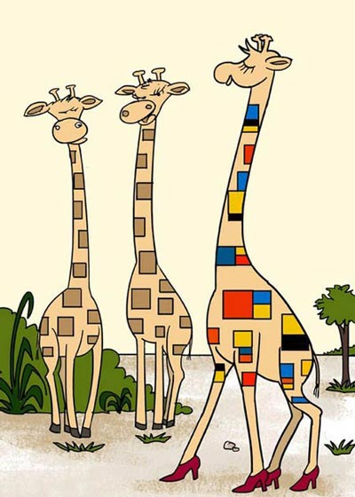 سری جدید کاریکاتورهای مفهومی و پرمعنا