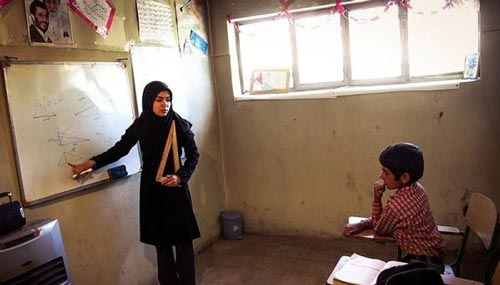 مدرسه ای که فقط 1 دانش آموز دارد (عکس)